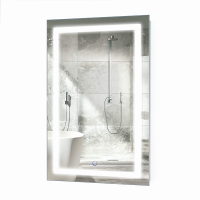 Lifestyle Portrait LED Bathroom Vanity Mirror with Touch Button