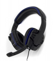 sparkfox sf1 stereo headset black and blue ps4