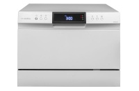 swiss 6 plate counter top dishwasher