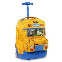 rolling backpack krb school bus backpack