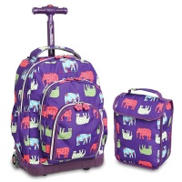 rolling backpack rbs16lsp elephant backpack