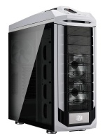 cooler master stryker gaming case white