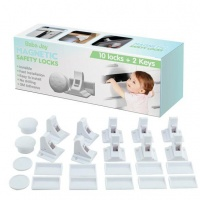 magnetic child safety locks for cupboards and drawers 10 lock