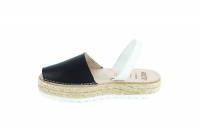 black spanish sandals shoe