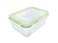 homemax rectangular glass food container 2000ml food storage