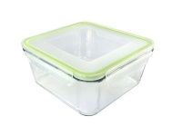 homemax square glass food container 1900ml food storage