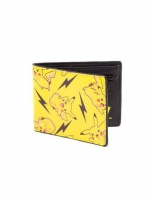 all over pikachu bifold wallet gaming merchandise