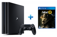 playstation 4 pro console fallout 76 ps4 1tb