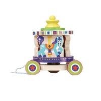 carousel pull toy walker