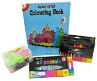 educat early artist pack crayon