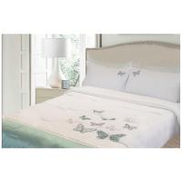 lush living butterfly embroidered duvet comforter set duvet cover