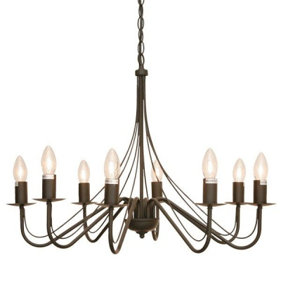 Photo of The Lighting Warehouse - Chandelier Traditional Clover 8