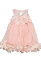 taja girl dress pink