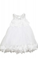 taja girl dress white
