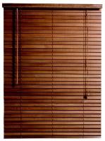 decor depot 50mm s bass wood venetian blind walnut 1200mm w blind
