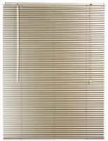 decor depot 25mm aluminium venetian blind fawn 470mm w x curtain
