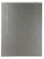 decor depot 25mm aluminium venetian blind silver 470mm w x curtain