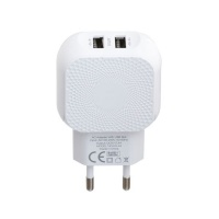 dual ports usb charger for iphone samsung 5v 24a wall