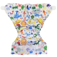bamboo baby newborn nappy hook and loop cover crayon nappy changing