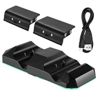 zonabel xbox one dual charging station x2 batteries 3ds console