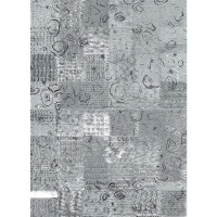 Waltex Area Rug Abstraction Grey
