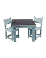 beetroot inc kiddies blackboard table and chairs duck egg entertainment center