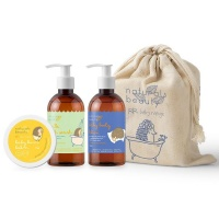 naturals beauty baby gift bag gift set