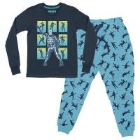 Epic Fortnite Skull Trooper Teen Pyjamas NavyBlue