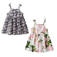 girl sun dress strappy 2 set garden 18 24 months