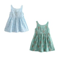 girl sun dress set of 2 blueolive 3 5 years