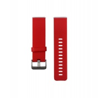 fitbit blaze silicon strap red accessory
