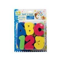 Bath and Shower Foam Letters Numbers