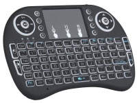 mini wi fi multimedia keyboard with touchpad and backlit