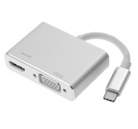 usb cm to hdmif vgaf adapter cable