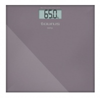 taurus bathroom scale battery operated glass purple 180kg bathroom accessory