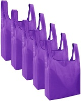 Gretmol Reusable Grocery Bags 5 Pack Foldable Shopping Tote Bag