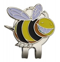 bee hat clip accessory