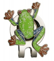 frog hat clip accessory