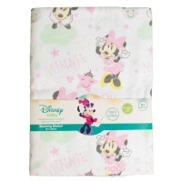 minnie mouse receiving blanket bedding
