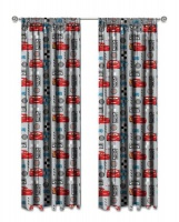 disney cars series unlined curtains set of 2 curtain