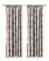paw patrol sweet unlined curtains set of 2 curtain