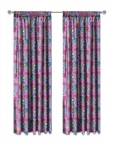 shimmer and shine flamingo unlined curtains set of 2 curtain