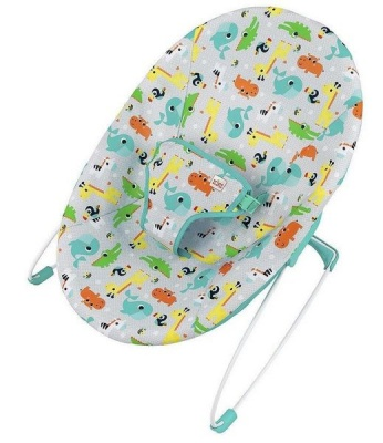 Photo of Bright Starts Vibrating Baby Bouncer - Jungle Jumble