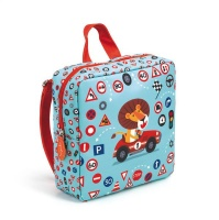 djeco nursery school bag lion backpack backpack