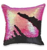 mermaid colour changing sequin pillow cushion pink cushion