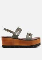 ava sandal khaki shoe