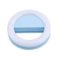 RK 14 Selfie Ring Light for Mobile Phone Blue