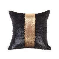mermaid colour changing sequin pillow cushion matte gold cushion