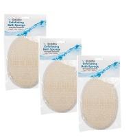 bath sponge exfoliating glove pack of 3 bathroom accessory