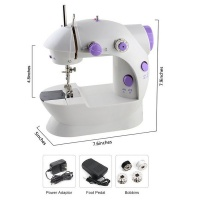2 Speed Double Portable Sewing Machine
